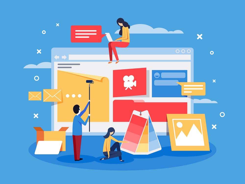 مزایای طراحی وب سایت اختصاصی